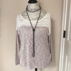 Medium long Sleeve Sweater